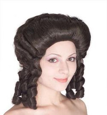 WIG COLONIAL LADY BROWN