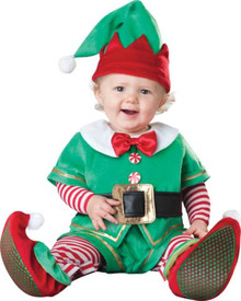 SANTAS LIL ELF COSTUME INFANT