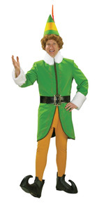Buddy The Elf Costume Deluxe Adult MED