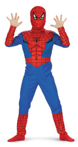 Spiderman Comic Child Costume