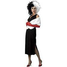 Cruella De Vil Costume Adult Standard