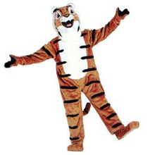 Tiger Friendly Mascot Costume (Rental)