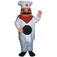 Chef Mascot Costume (Rental)