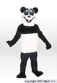 Panda Mascot Costume (Rental)