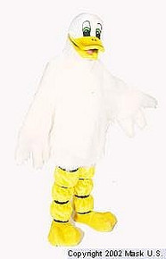 Quackers The Duck Mascot (Rental)