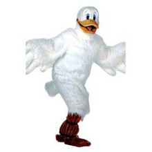 Duck Mascot White Costume (Rental)