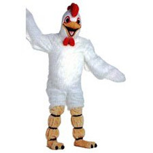 Chicken Mascot White Costume (Rental)