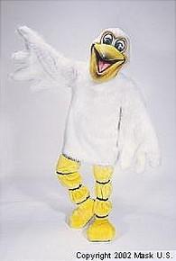 Pelican Pete Mascot Costume (Rental)