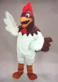 Rooster Mascot Costume (Rental)
