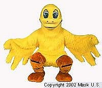 Duck Mascot Costume Yellow (Rental)