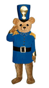Soldier Bear Mascot Costume (Rental)