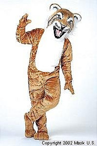 Bobcat Mascot Costume (Rental)