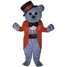 Bear Ringmaster Mascot Costume (Rental)