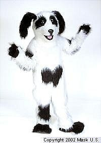 Sheepdog Mascot Costume (Rental)