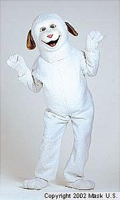 Lamb Mascot Costume (Rental)