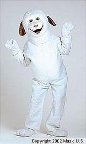 Lamb Mascot Costume (Rental)