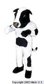 Cow Mascot Costume (Purchase)