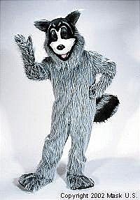 Raccoon Mascot Costume (Rental)