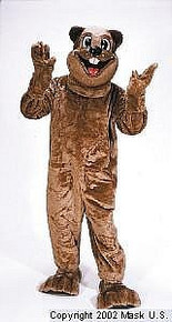 Beaver Mascot Costume (Rental)