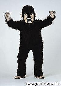 Wolfman Mascot Costume (Rental)