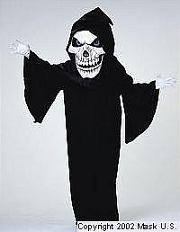 Skeleton Mascot Costume (Rental)