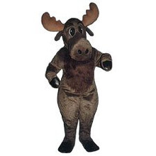 Moose Mascot Brown Costume (Rental)