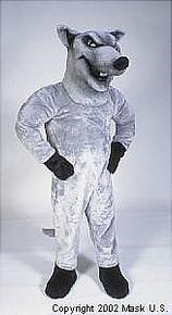 Rat Mascot Costume (Rental)
