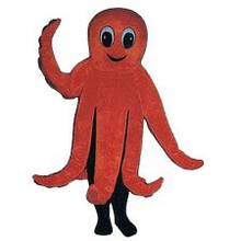 Octopus Mascot Costume (Rental)
