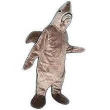Shark Mascot Costume (Rental)