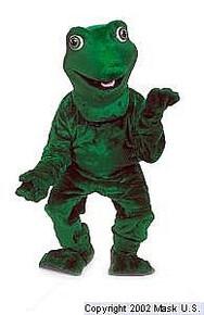 Frog Mascot Costume (Rental)