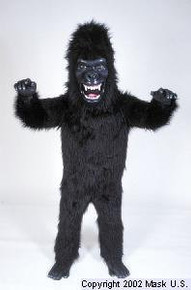 Fierce Gorilla Mascot Costume (Rental)