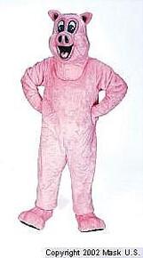Pig Mascot Costume (Rental)