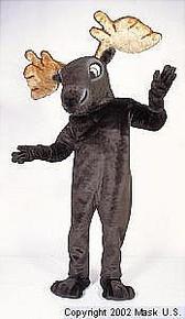 Moose Mascot Costume (Rental)