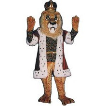 King Lion Mascot Costume (Rental)