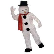 Snowman Mascot Costume (Rental)