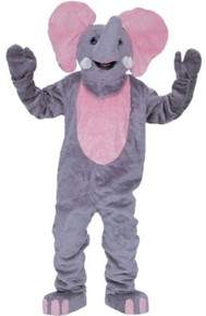 Elephant Mascot Adult Costume (Rental)