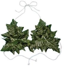 Fern Leaf Bikini Top