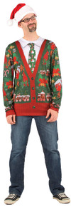 Ugly Christmas Cardigan Adult Sweater