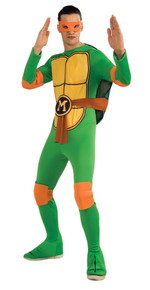 Michangelo Teenage Mutant Ninja Turtles Costume Adult