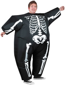 Inflatable Skeleton Adult Costume