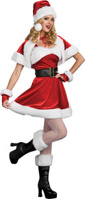 Santa's Sexy Helper Costume Adult