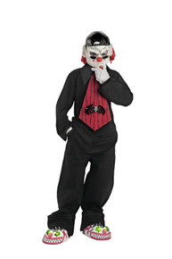 Street Mime Child Costume 7-8