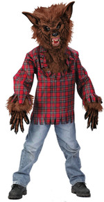 Werewolf Child Costume 12-14