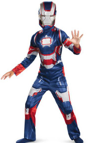 Iron Patriot Classic Child Costume Lrg 10-12