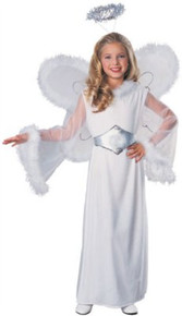 Angel Snow Child Costume