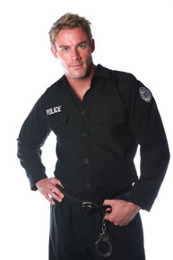 Police Shirt Costume Adult
