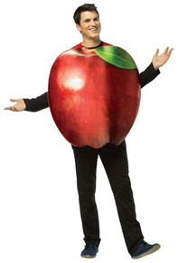 Apple Adult Costume Red
