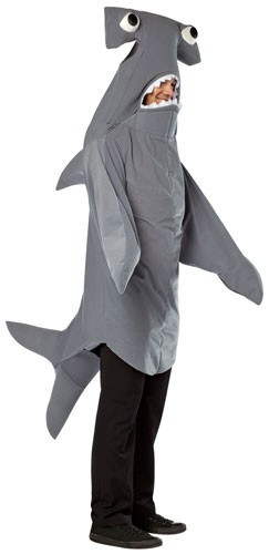 ... Hammerhead Shark Costume Adult. Image 1  sc 1 st  Fantasy Costumes & Hammerhead Shark Costume Adult | Free Shipping