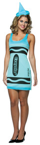 Sky Blue Crayola Crayon Tank Dress