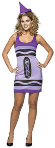Crayola Crayon Tank Dress Wisteria